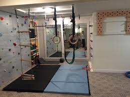 Ana White Diy Basement Indoor Playground With Monkey Bars Diy by Indoor Basement Playground Ninja Warrior Gym Climbing Wall