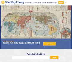 osher map library usm s osher map library unveils website and cutting edge