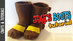 halloween boot covers jake u0027s boots tutorial halloween the290ss youtube