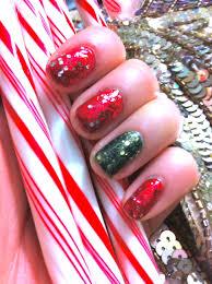 christmas glitter nails with illamasqua deborah lippmann opi