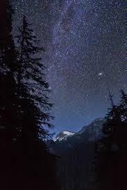 starry night sky wallpaper
