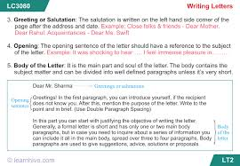 learnhive cbse grade 8 english letter writing lessons