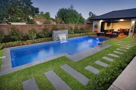 Small Backyard Design Small Backyard Designs With Square Swimming Pool Ideas And