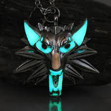 wild hunt witcher 3 werewolf game of thrones necklace pendant stark twilight wolf the witcher 3