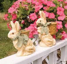 Easter Bunny Lawn Decorations by Outside Easter Decorations Easter Yard Decor Outdoor Easter