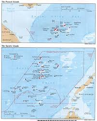 South China Sea Map Spratly Islands Maps Perry Castañeda Map Collection Ut Library