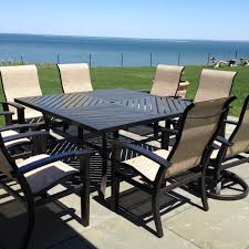 Refinish Iron Patio Furniture by Outdoor Sling Furniture Replacement Slings Repair Refinish