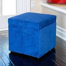 Storage Ottoman Blue Blue Storage Ottoman Blue Ottoman Storage Tufted Storage Cube