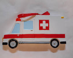 ambulance decor etsy