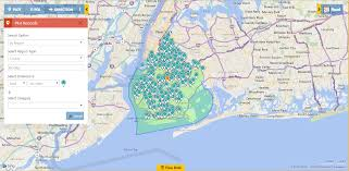 Brooklyn Zip Code Map Map Ms Dynamics Crm Data Lead Mapping Maplytics