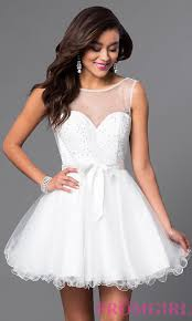 white and ivory wedding dresses promgirl