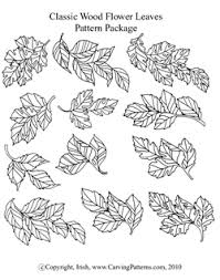 wood flower leaves pattern pack download