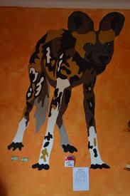68 best wall magic murals and street art images on pinterest painted by ester van der merwe african wild dog