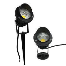 commercial electric led spike light 500 lumens dc 12v outdoor led landscape lawn l cob garden light with cap 3w