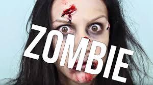 cynthia dulude maquillage de zombie pour l u0027halloween walking