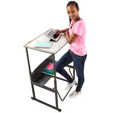 alphabetter desk by safco active focal upright