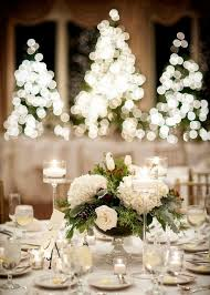 White Christmas Centerpieces - christmas centerpieces u2013 festive table decoration ideas with flowers