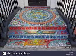 mosaic pavement front door step u0026 entrance doorway bridging