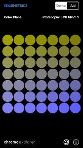 Color Blindness Simulator Sensimetrics Chromaexplorer