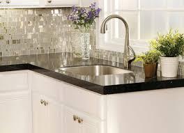 Inexpensive Backsplash Ideas For Kitchen Kitchens Fashionably Kitchen Backsplash Tile For Glass Subway