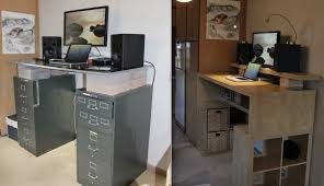 Stand Up Desk Conversion Ikea Chic Inexpensive Standing Desk Convert Any Desk Into Stand Up