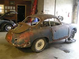 for restoration for sale 1963 porsche 356 barn find restoration engine runs for sale