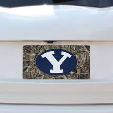 byu alumni license plate frame byu cougars license plates brigham license plate