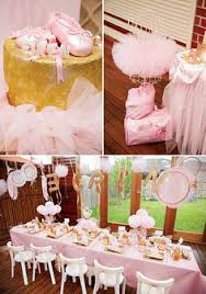 Table Party Decorations Ballerina Birthday Party Kristenduke Com The