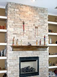stacked stone veneer fireplace pictures redo pics designs stone