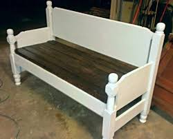 Making Headboards Out Of Old Doors by Best 20 Old Bed Frames Ideas On Pinterest Twin Bed Bench Twin