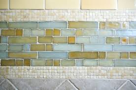 recycled glass backsplashes for kitchens glass tile backsplash