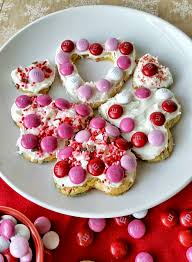heart shaped cookies heart shaped cake mix cookies three kids and a fish