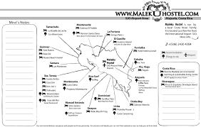 San Jose Costa Rica Map by Maleku Hostel Mapa Of Costa Rica Near To Airport San Jose Costa