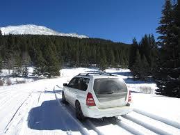 subaru snow boreas pass in the snow not your average engineer