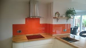 Splashback Ideas For Kitchens Red Glass Splashbacks For Kitchens And Bathrooms