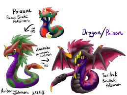 poisen dragon types pokemon too images pokemon images