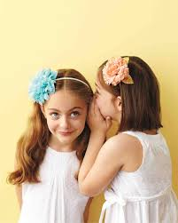 flower girl headbands flower girl accessories ones will martha stewart