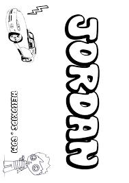 jordan coloring pages hellokids com