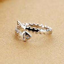 silver fish ring holder images Rings jpg