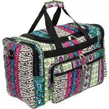 Tennessee best travel bags images 19 quot boho printed travel duffel bag w black trim jpg