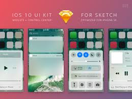 ios 10 ui kit for sketch by black pixel dribbble