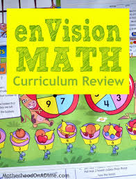 hands on active math envisionmath homeschool curriculum review
