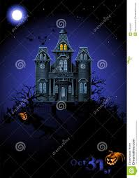 halloween haunted house flyer background halloween haunted house royalty free stock photography image
