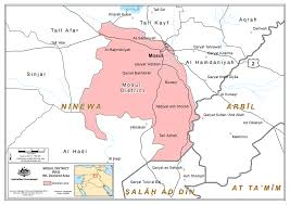 Iraq On World Map Declared Area Offence Australian National Security