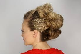 buns hair bun mohawk