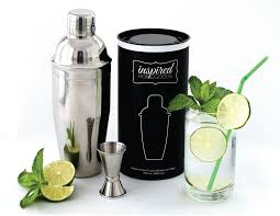 cocktail set inspired homegoods modern cocktail shaker set with jigger built