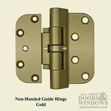 Security Hinges For Exterior Doors F1713 2009 Guide Hinge Gold