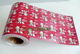 hamburger wrapping paper food grade kfc butter margarine hamburger wrapping paper roll