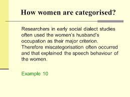 sociolinguistics chapter 7 gender and age ppt download