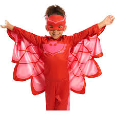 the mask costume pj masks dress up set owlette walmart
